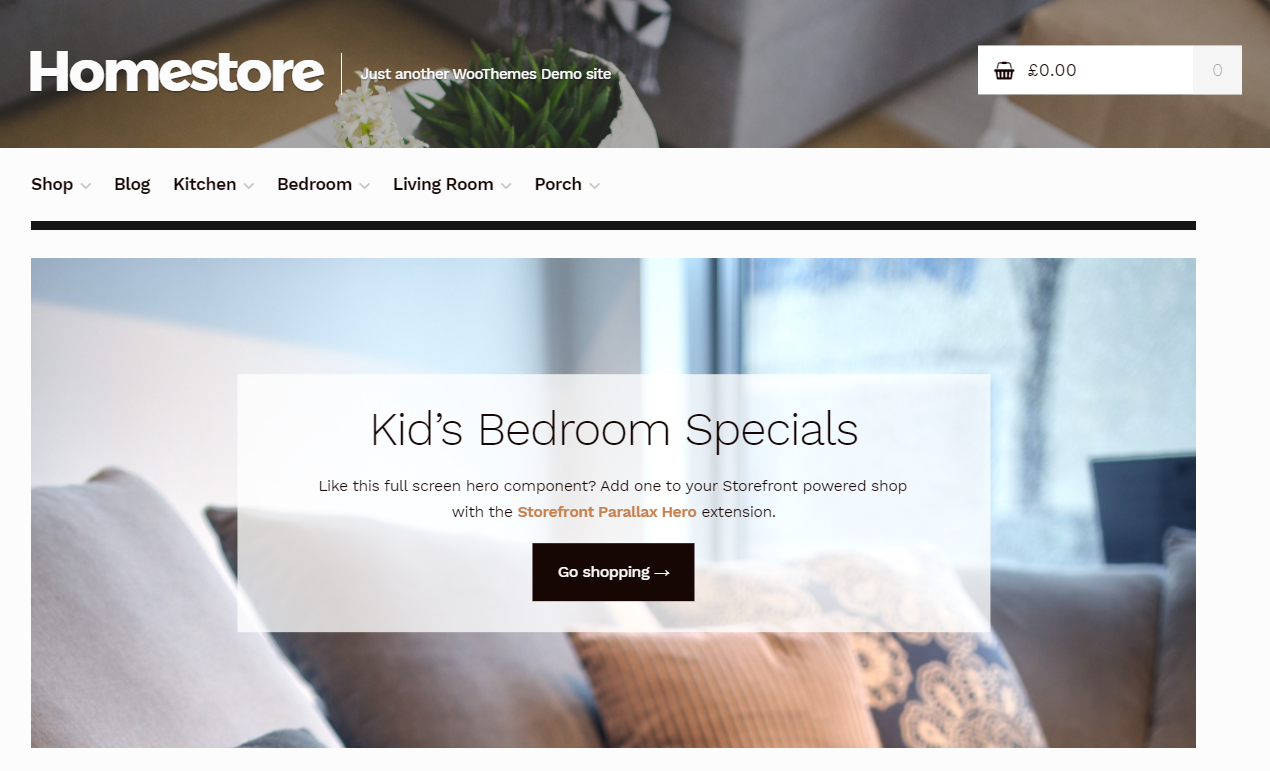 Online department stores can get the most appropriate styling with Homestore theme.