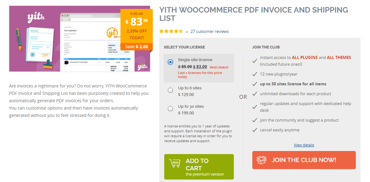 6 best plugins to create woocommerce pdf invoices learnwoo