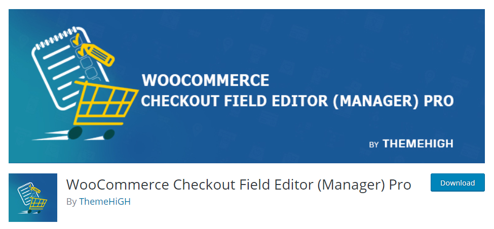 image of ThemeHigh WooCommerce checkout field editor