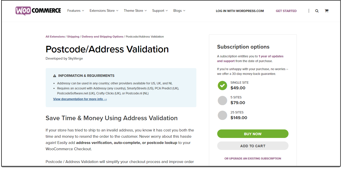 Top WooCommerce Address Validation & Autocomplete Plugins | Postcode/Address Validation