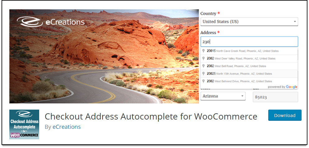 Top WooCommerce Address Validation & Autocomplete Plugins | Checkout Address Autocomplete for WooCommerce