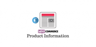 Header image for Product Information on WooCommerce