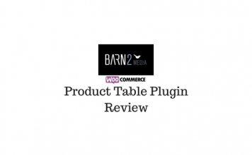 Header image of WooCommerce Product Table Plugin